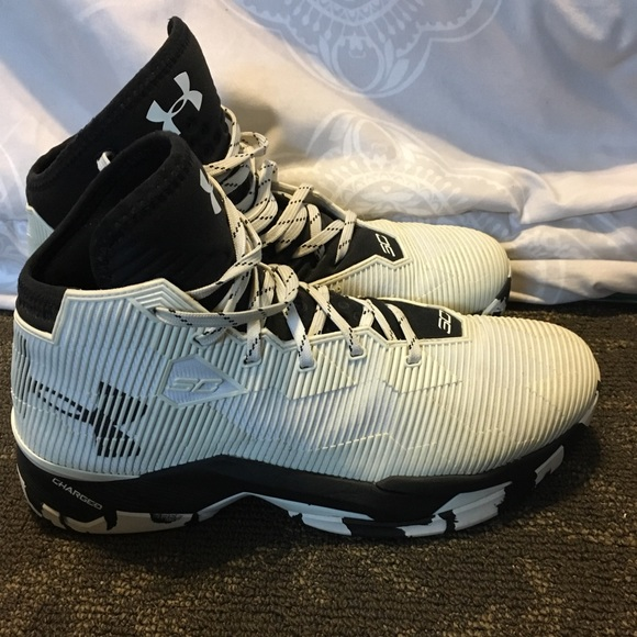 Under Armour Stephen Curry White High
